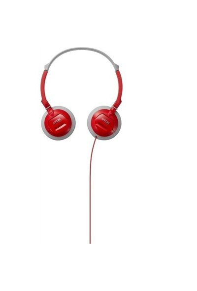 TDK ST100 Kulaküstü Kırmızı Kulaklık