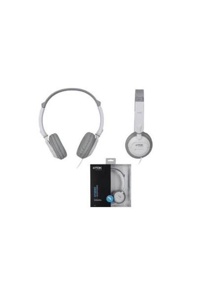 TDK ST100 Kulaküstü Beyaz Kulaklık