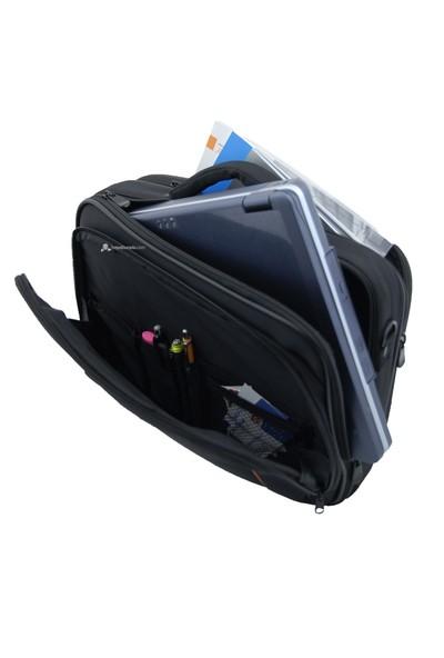 """Lizer 7005 15.4"""" Kasnaklı Siyah Notebook Çantası"""