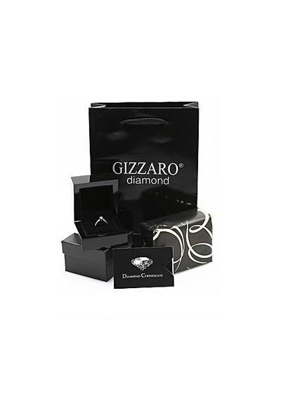 Gizzaro 0.19 Karat 0.23 Karat Zümrüt Pırlanta Damla Yüzük GZY050