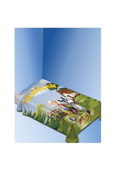 Dinarsu Polyester Vizon Lisanslı Battaniye Keloğlan