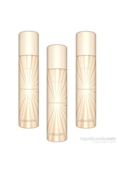 Avon Incandessence Bayan Deodorant 3Lü Set