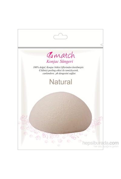 Match Konjac Süngeri (Natural-Oval)