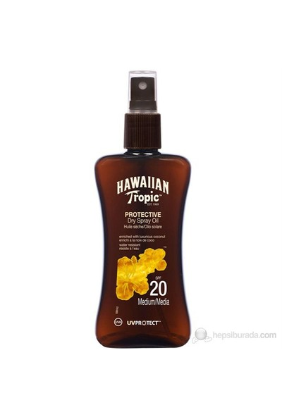 Hawaiian Tropic Yağ Spray Spf20 200Ml