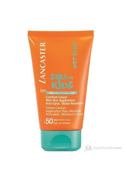 Lancaster Sun For Kids Comford Cream Wet Skin Application Spf 50 125 Ml