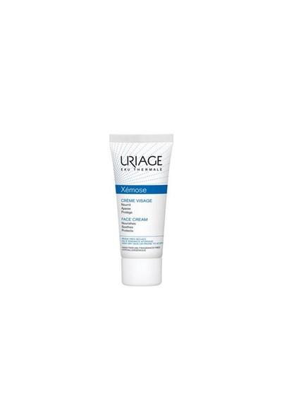 Uriage Xemose Face Cream 40ml - Kuru Yıpranmış Ciltler İçin Nemlendirici Yüz Kremi