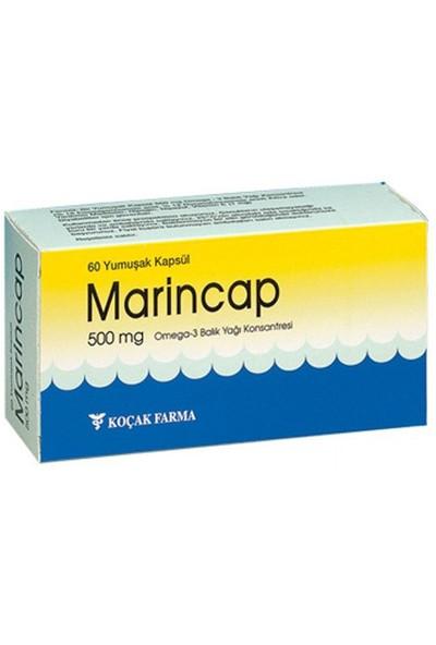 Marincap Omega-3 Balık Yağı Konsantresi 500 Mg 60
