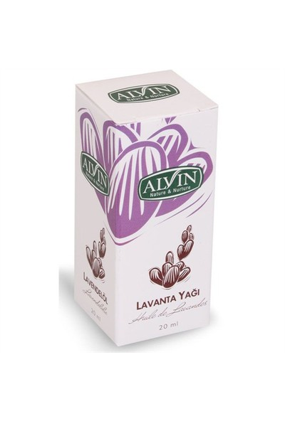 Alvin Nature & Nurture Lavanta Yağı 20 Ml