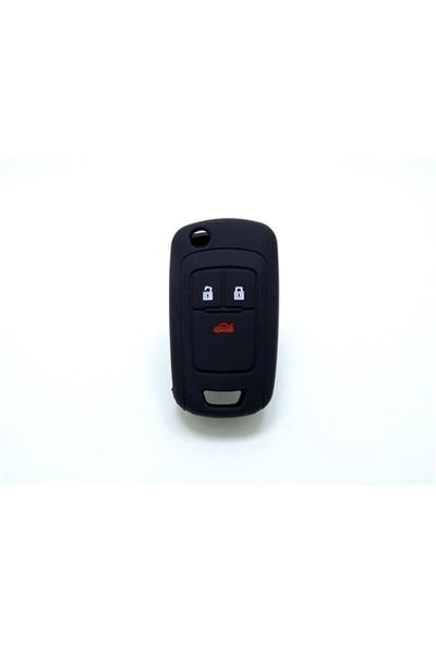 Gsk Chevrolet Cruze Kumanda Kabı Koruyucu Kılıf 3 Tuş( Siyah )