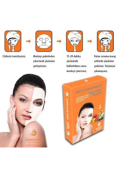 Yüz Bakım Maskesi Canlandırıcı ve Besleyici Meyveli Beauty Face