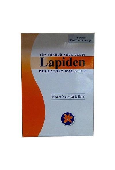 Lapiden Ağda Bandı Vücut Için 12 Adet (6 Çitf)