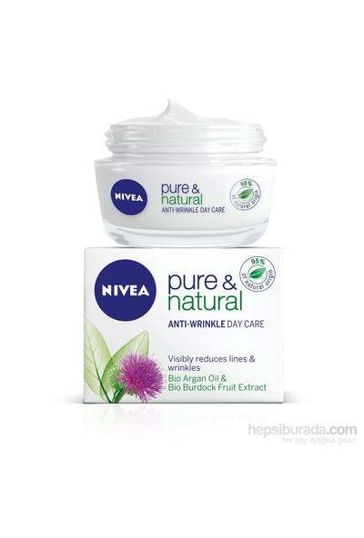 Nivea Visage Pure&Natural Kırışık Karşıtı Gündüz Kremi