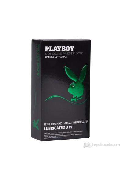 Playboy 3in1 li Ultra Haz 12'li Prezervatif
