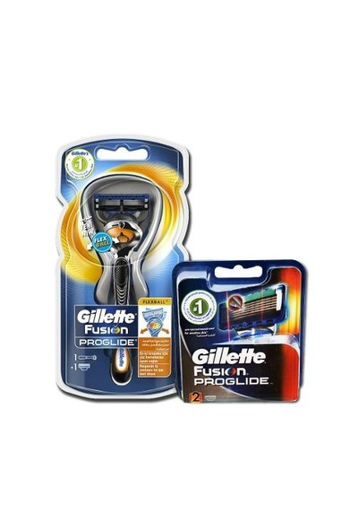 Gillette Fusion Proglide Flexball 1Up + 2 Bıçak