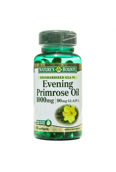 Nature's Bounty Evening Primrose Oil 1000 Mg