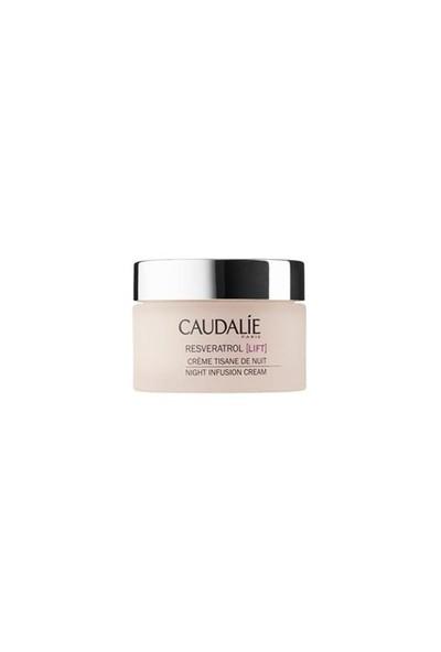 Caudalie Resveratrol Night Infusion Cream 50Ml - Sıkılaştırıcı Etkili Gece Bakım Kremi