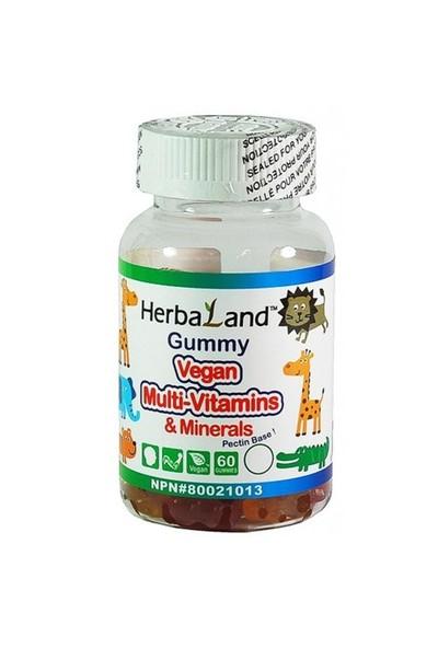 Gummy Vegan Multivitamins & Minerals 60 Kapsül