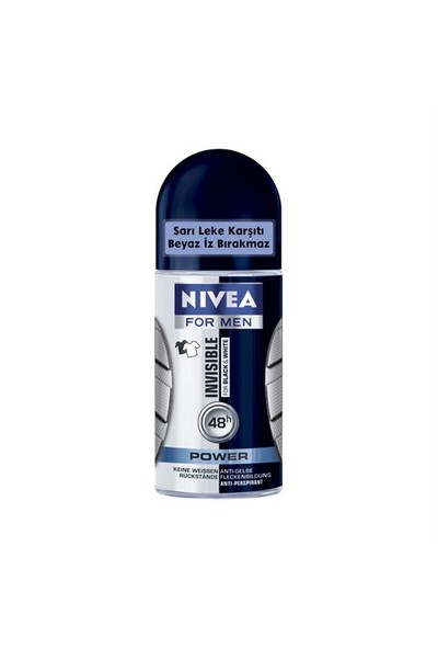 Nivea For Men Black & White Power Roll On