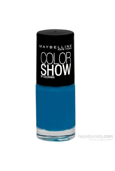 Maybelline New York Vao Color Show Nu 654 Superpower Bl