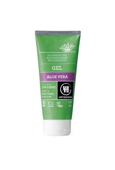 Urtekram Aloe Vera Jel Krem - Organik ve Vegan - Cilt Onarıcı, Nemlendirici ve Güneş Sonrası Bakım