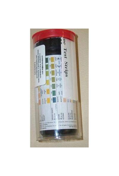 Medical Reagent 10 Parametre İdrar Test Stripi 100 Adet