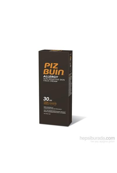 Piz Buin Alerji Hassas Ciltler için Yüz Kremi SPF 30 50 ml