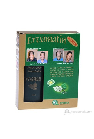 Ervamatin Saç Losyonu - 1 Alana 1 Bedava