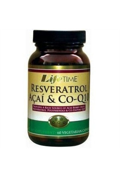 Life Time Q-Resveratrol & Acai & Co-Q10 Kapsül/Tak