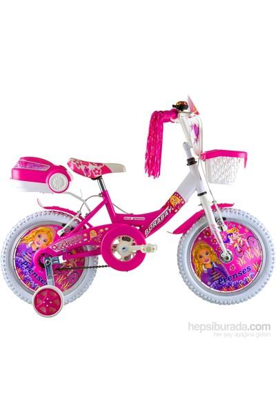"""Borabay First Prenses 16"""" Vitessiz Çocuk Bisikleti Pembe"""