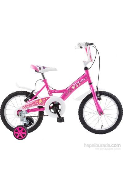 "Borabay Laydi 16"" Vitessiz Çocuk Bisikleti Pembe"