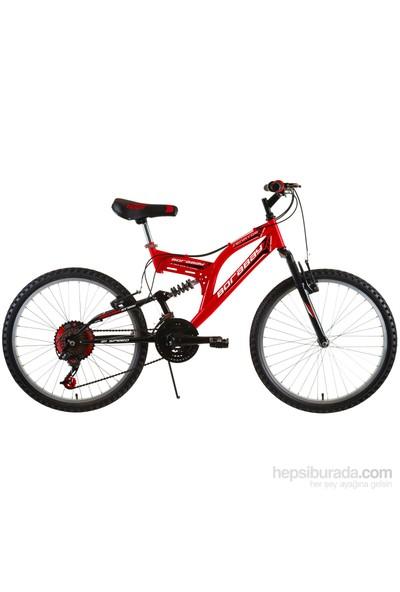 """Borabay Senatör 26"""" 21 Vites Çocuk Bisikleti 2014 Kırmızı"""