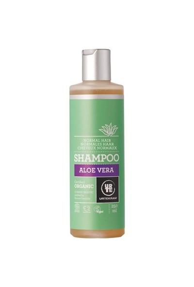 Urtekram Organik Aloe Vera Şampuan - Canlılık ve Işıltı - normal saçlar 250 ml.