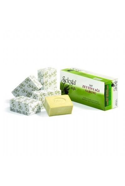 Selesta Zeytinyağlı Katı Sabun Saf 200 Gr 5 Li