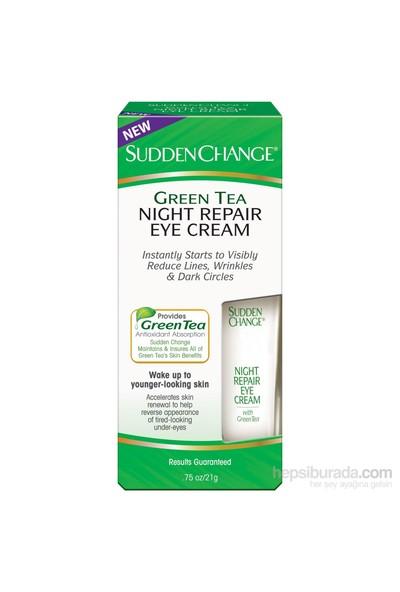 Sudden Change Yeşil Çaylı Onarıcı Göz Kremi - Gece