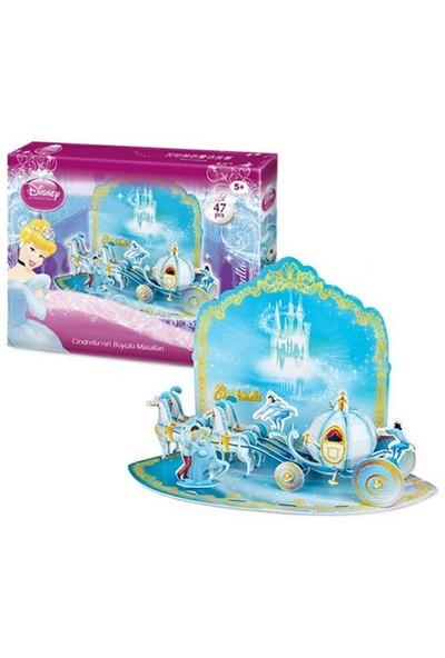 Cubic Fun Puzzle Cinderella'nın Büyülü Masalları (3 Boyutlu)