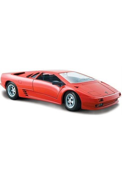 Maisto Lamborghini Diablo Model Araba 1:24 Special Edition Kırmızı