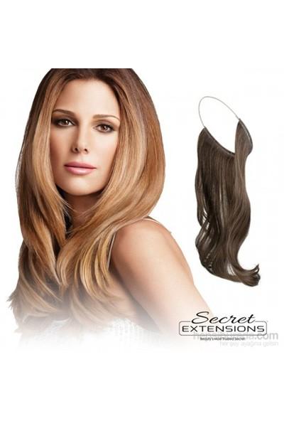 Secret Extensions Pratik Saç Orta Altın Sarı