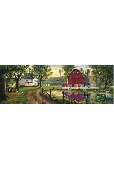 Masterpieces 1000 Parça Panoramik Puzzle The Road Home