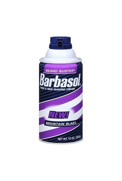 Barbasol Thick & Rich Shaving Cream Mountain Blast