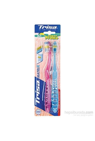 Trisa Matrix Protect Soft Diş Fırçası (2'li paket)