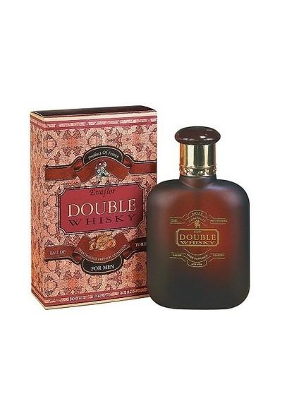 Whisky Evaflor Double For Men Edt 100 Ml Erkek Parfüm