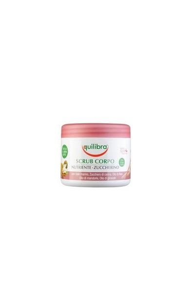 Equilibra Scrub Corpo Nutriente Zuccherino 550Gr - Şekerli Vücut Şurubu