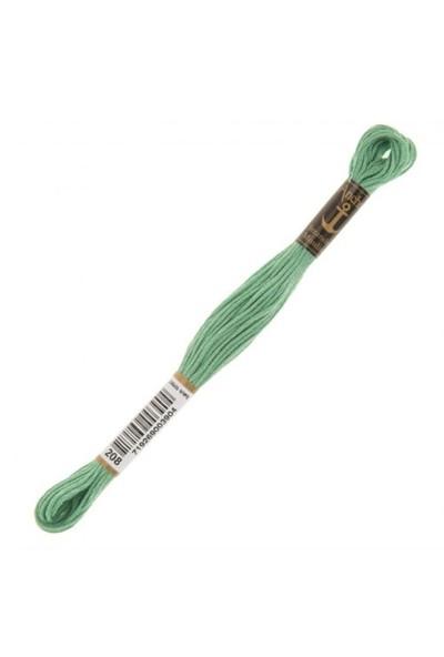 Anchor Muline 8M Yeşil Nakış İpliği - 0208