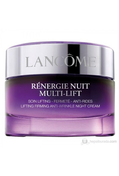 Lancome Renergie Nuit Multi Lift Soin Lifting 50 Ml Gece Kremi