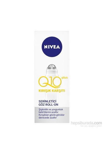 Nivea Q10 Plus Kırışık Karşıtı Şişkinlik Giderici Göz Roll-On