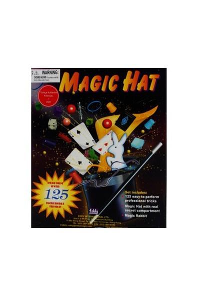 Eğitim Dvd' Li Şapkalı Sihirbazlık Seti-125 İlüzyon ( Magic Hat )