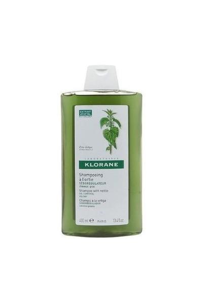 KLORANE Shampooing d'ortie 400 ml - Isırgan otlu şamğuan (yağlı saçlar)