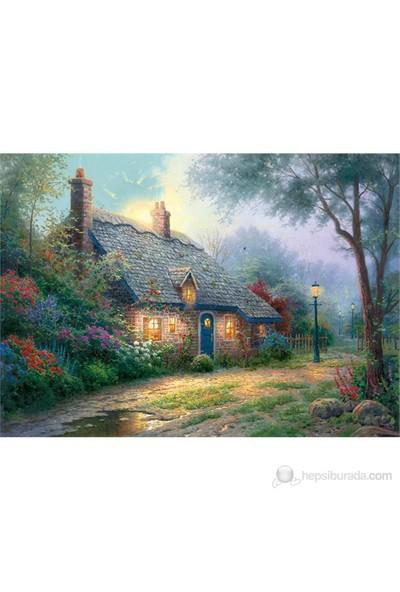 Schmidt 1000 Parça Puzzle Moonlight Cottage