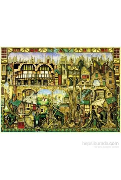 Schmidt 1000 Parça Puzzle Tree Houses Colin Thompson