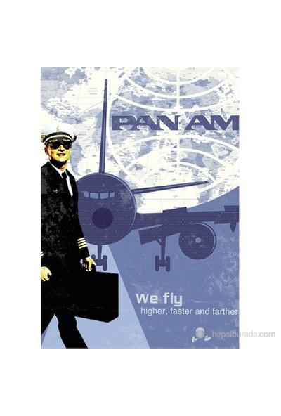 Schmidt 1000 Parça Retro Poster PanAm Puzzle